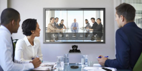 Scopia, Avaya, Algotech, video collaboration, virtual meeting room
